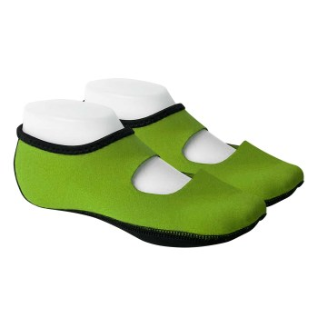 FOOTWEAR,NUFOOT,MARY JANE,GREEN,MED,PAIR