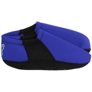 FOOTWEAR,NUFOOT,BOOTIE,ROYAL BLUE,BLACK,XLARGE,PAIR