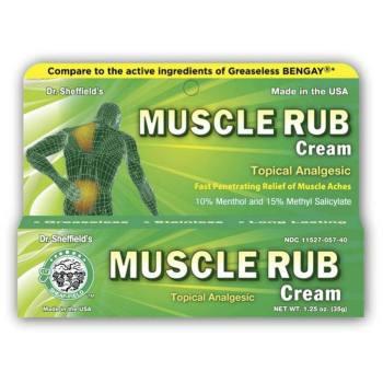 MUSCLE RUB, 1.25OZ TUBE (BENGAY),1 EA/TB