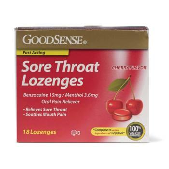 LOZENGES,SORE THROAT,18/BX(CHLORASEPTIC,EA