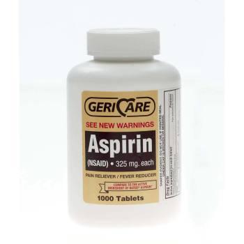ASPIRIN,TABLETS,325MG,1000BT(BAYER),EA