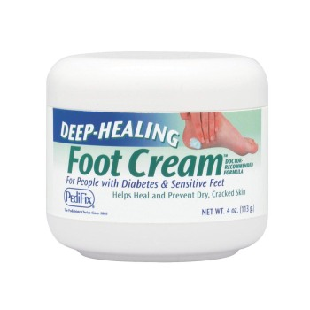DEEP-HEALING FOOT CREAM 4OZ,EA