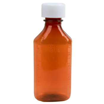 BOTTLE,LIQUID OVAL,4 OZ,200/CS