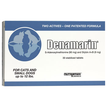 RXV DENAMARIN FOR CATS/SM DOGS 90MG, 30 TABLETS