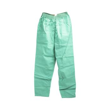 PANTS,JADE GREEN,ELASTIC WAIST,X-SMALL