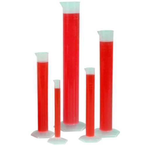 PLASTIC CYLINDER, 250ML, 100/CS