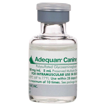 RXV ADEQUAN CANINE, TWO 5ML VIALS