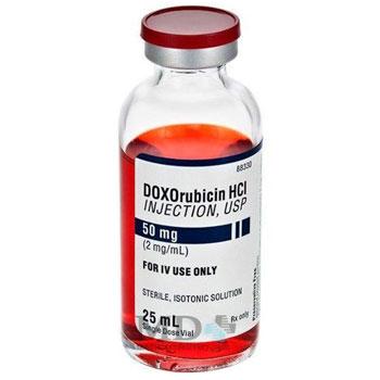 RX DOXORUBICIN HCL 2MG/ML, 25ML VIAL