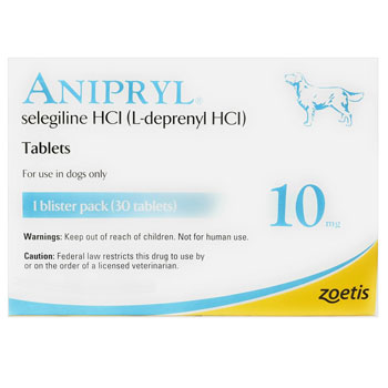 RXV, ZOETIS, ANIPRYL 10MG, 30 TABLETS