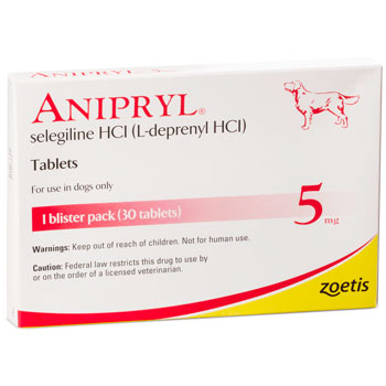 RXV, ZOETIS, ANIPRYL FOR DOGS 5MG,30 TABLETS