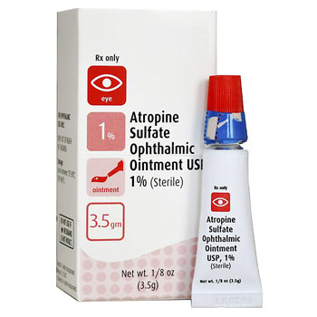 RX ATROPINE SUL OPH OINT 1%, 3.5GM