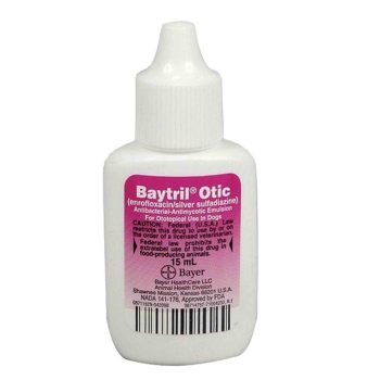 RXV BAYTRIL OTIC DROPS, 15 ML