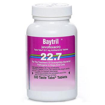 RXV BAYTRIL 22.7MG 500 TASTE TABS