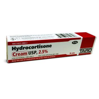 RX HYDROCORTISONE CREAM,2.5%,30GM