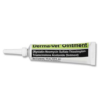 RXV DERMA-VET OINTMENT 15ML