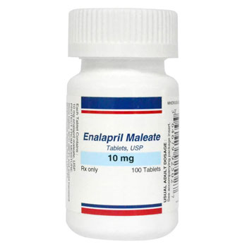 RX ENALAPRIL MALEATE 10MG, 100 TABS
