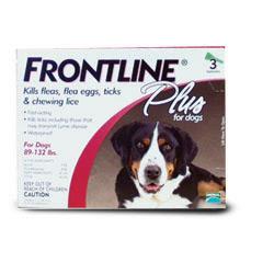 RXV FRONTLINE PLUS, 89-132LB, 3 PACK