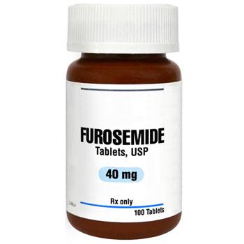 RX FUROSEMIDE 40MG,100 TABLETS