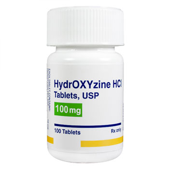 RX HYDROXYZINE PAMOATE 100MG 100 CAPS