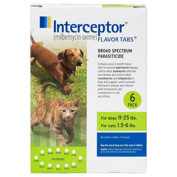 RXV INTERCEPTOR,GREEN,11-25LB,6PK
