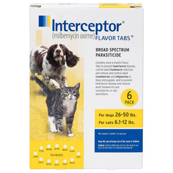 RXV INTERCEPTOR,YELLOW,26-50LB,6PK