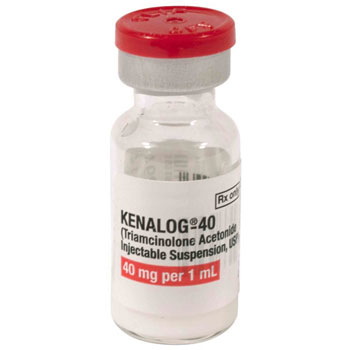 RX KENALOG (TRIAMCINOLONE) 40MG/ML, 1 ML INJECTION
