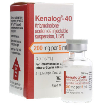 RX KENALOG (TRIAMCINOLONE) 40MG/ML, 5 ML