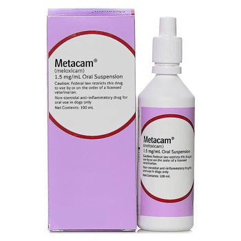 RXV B.I METACAM (MELOXICAM) ORAL SUSPENSION 1.5MG/ML, 100ML