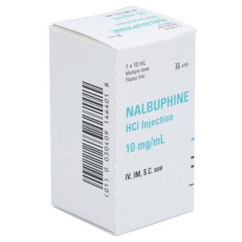 RX NALBUPHINE 10MG/ML, 25X10ML