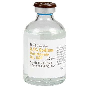 RX SODIUM BICARBONATE 8.4%, 50 ML