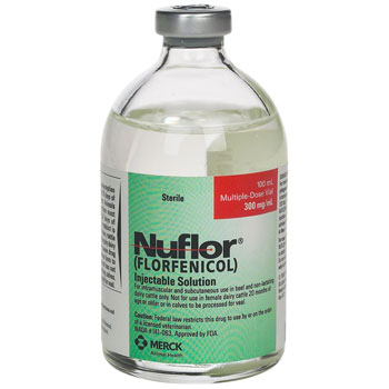 RXV MERCK NUFLOR (BIOGLO) INJECTION, 100 ML