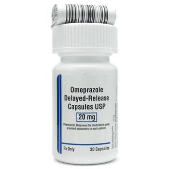 RX OMEPRAZOLE DR 20MG, 30 CAPSULES