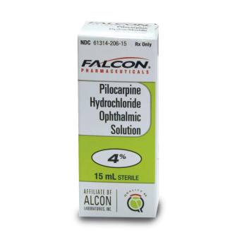 RX PILOCARPINE OPHTH SOL, 4%, 15 ML