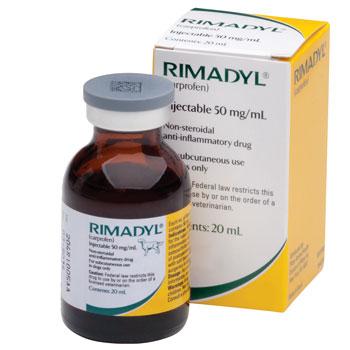 RXV, ZOETIS, RIMADYL (CARPROFEN) INJECTION 50MG/ML 20ML