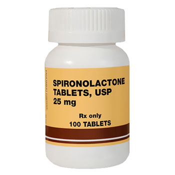 RX SPIRONOLACTONE 25MG 100 TABLETS