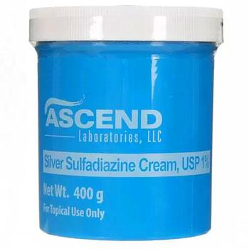 RX SILVER SULFADIAZINE CREAM 1% 400GM JAR