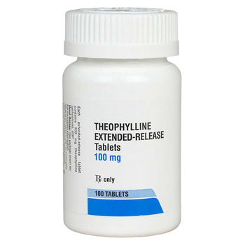 RX THEOPHYLLINE ANHYDROUS ER 100MG, 100 CAPS