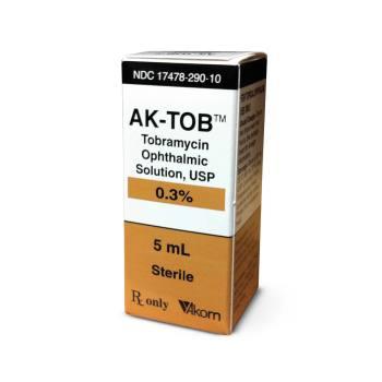 RX TOBRAMYCIN OPHTHALMIC,  0.3%, 5 ML