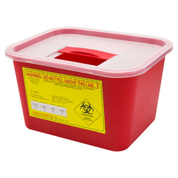 SHARPS CONTAINER 1 GALLON, EACH