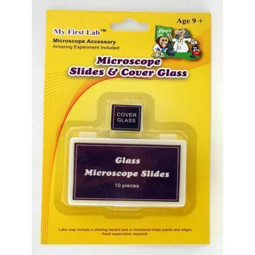 SLIDES & COVER GLASS,BX10