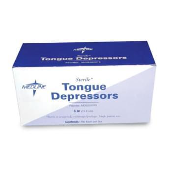 TONGUE DEPRESSOR, STERILE, 100/BX