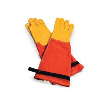 Vet Pro Trapper Heavy Duty Animal Handling Gloves Med