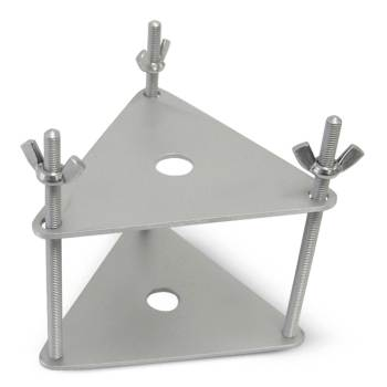 Clamp, condyle, triangular stainless steel