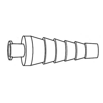 CONNECTOR,BARBED,W/ FEMALE,L/L