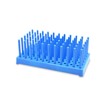 Rack, test tube, drying pin, 10cm W x 18cm L x 6.7cm H