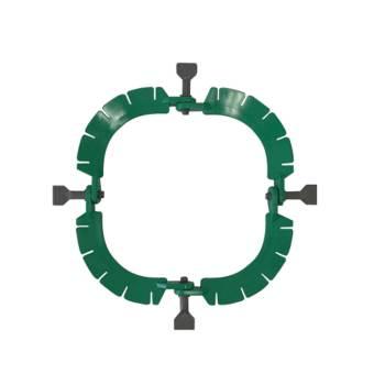 Ring, autoclavable plastic retractor, 27.5cm x 14.2cm