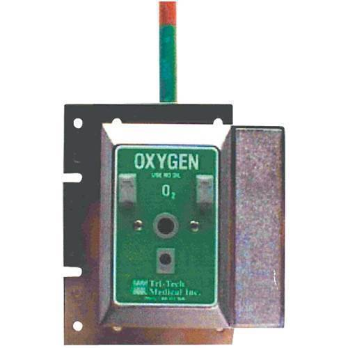 Oxygen Connector,Chemtron recessed female wall outlet