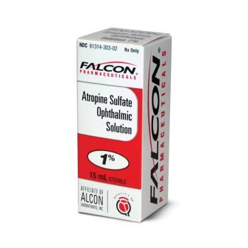 RX ATROPINE SULF 1% OPH SOLN, 15 ML
