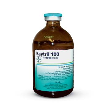 RXV BAYTRIL INJECTION 100MG/ML, 100 ML