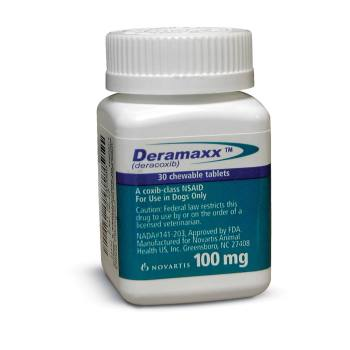 RXV DERAMAXX 100MG, 30 TABLETS